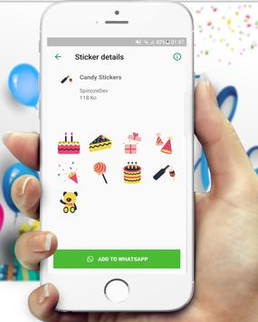 WAStickerApp - Birthday Stickers for Whatsapp screenshot 1