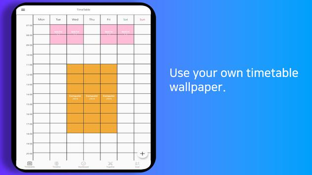 Planner Timetable with alarm for study - Damda スクリーンショット 12