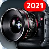 Kamera HD ikon
