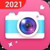 高清攝像機 - 自拍相機,美容相機,照片編輯器 圖標