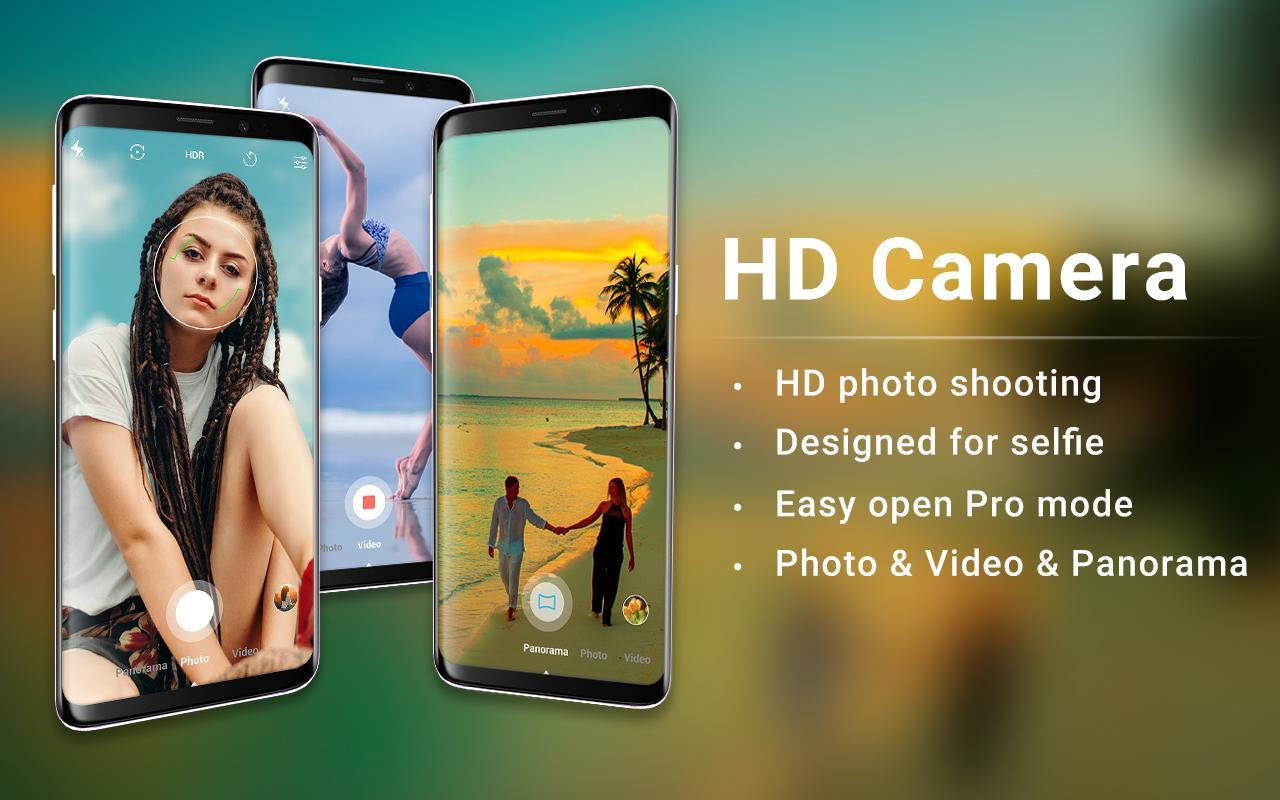 HD Camera - Easy Selfie Camera, Picture Editing for Android