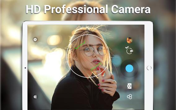 高清攝像機 - 自拍相機,美容相機,照片編輯器 截圖 11