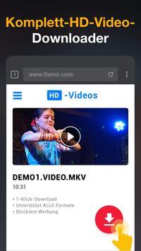 HD Video Downloader-App - 2019 Plakat