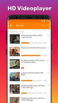 HD Videoplayer Plakat