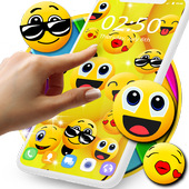Emoji live wallpaper icon