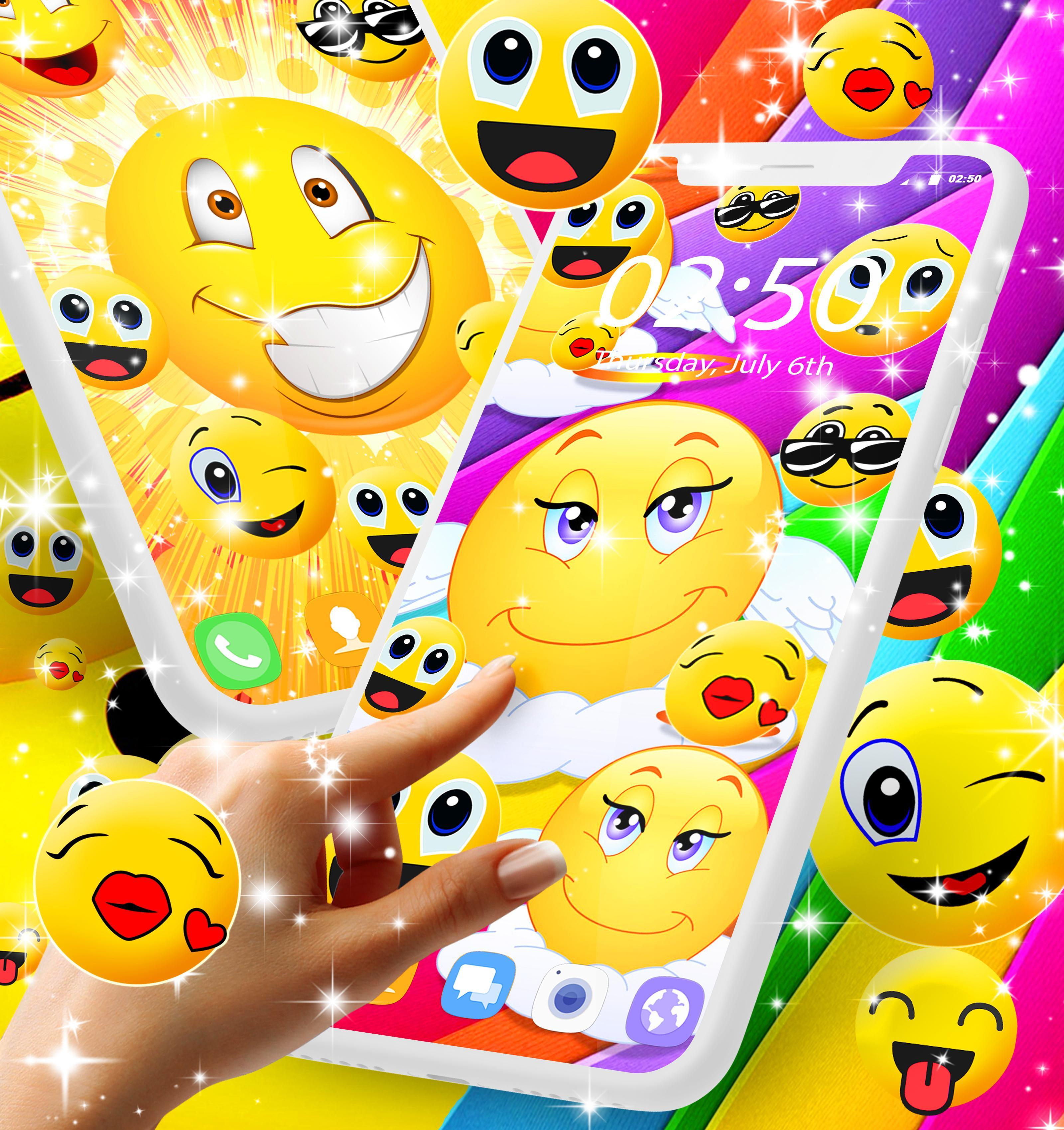 Emoji Live Wallpaper For Android