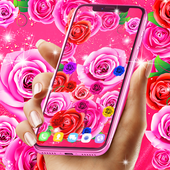 Best rose live wallpaper icon