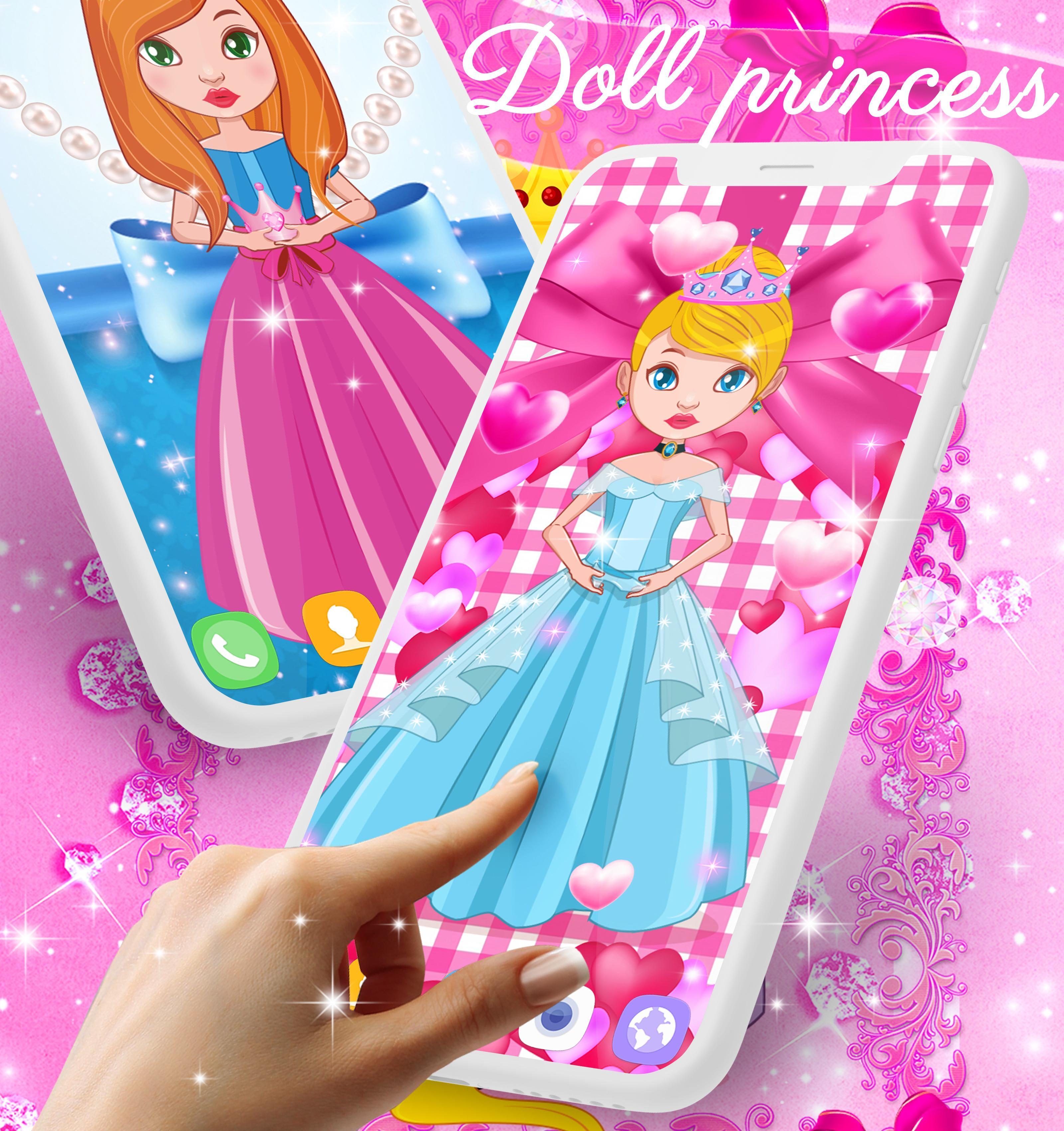 Doll Princess Live Wallpaper For Android Apk Download