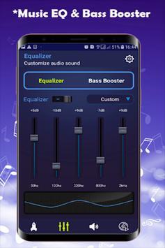 Headphones Volume Booster and Bass Booster 2019 screenshot 1