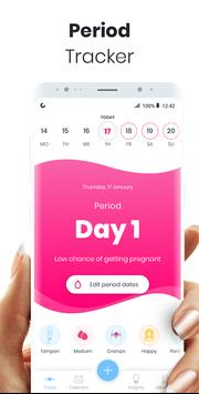 Period Tracker MIA: My Ovulation & Fertility & PMS poster