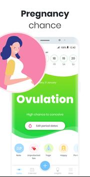 Period Tracker MIA: My Ovulation & Fertility & PMS screenshot 1