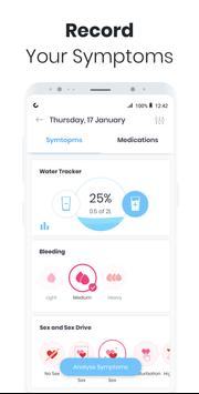 Period Tracker MIA: My Ovulation & Fertility & PMS screenshot 2
