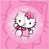 Kitty Clock Live Wallpaper icon