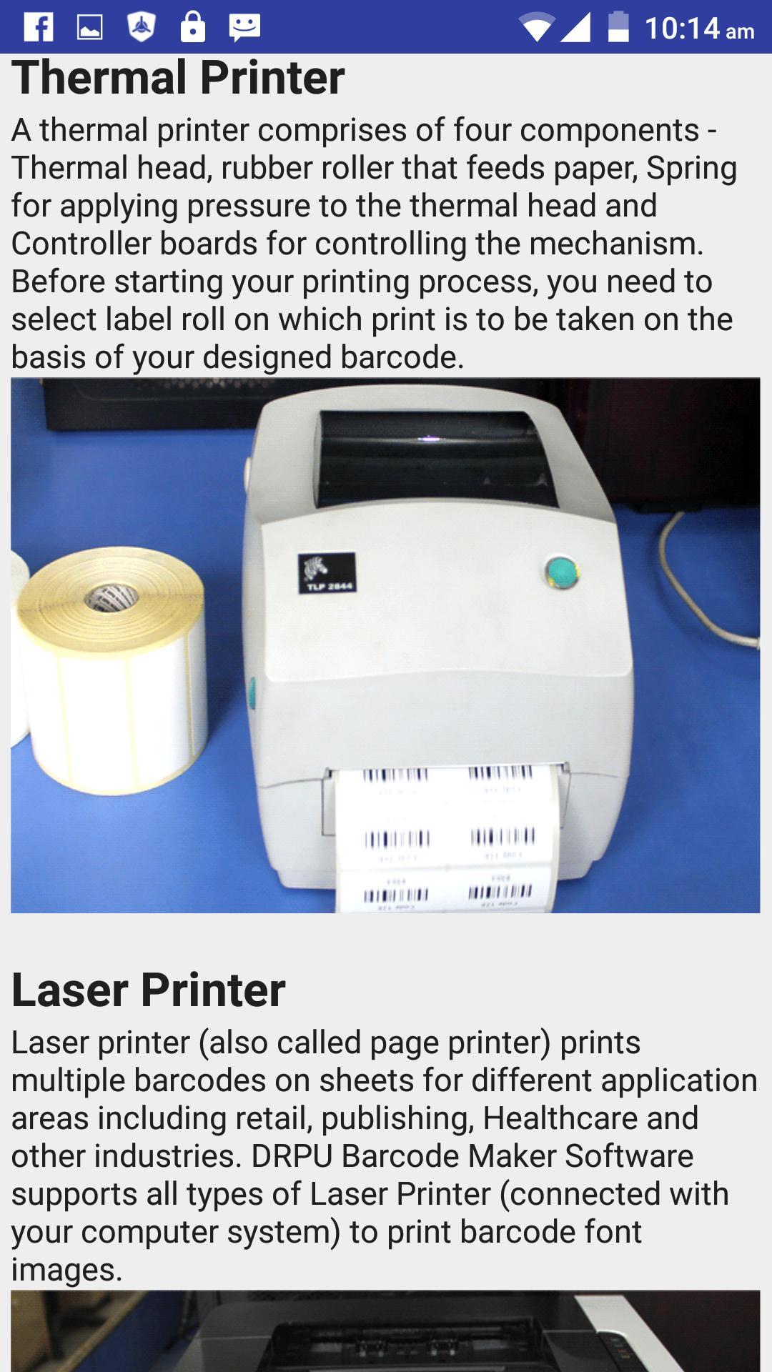 Barcode Labels & Printers Help for Android - APK Download