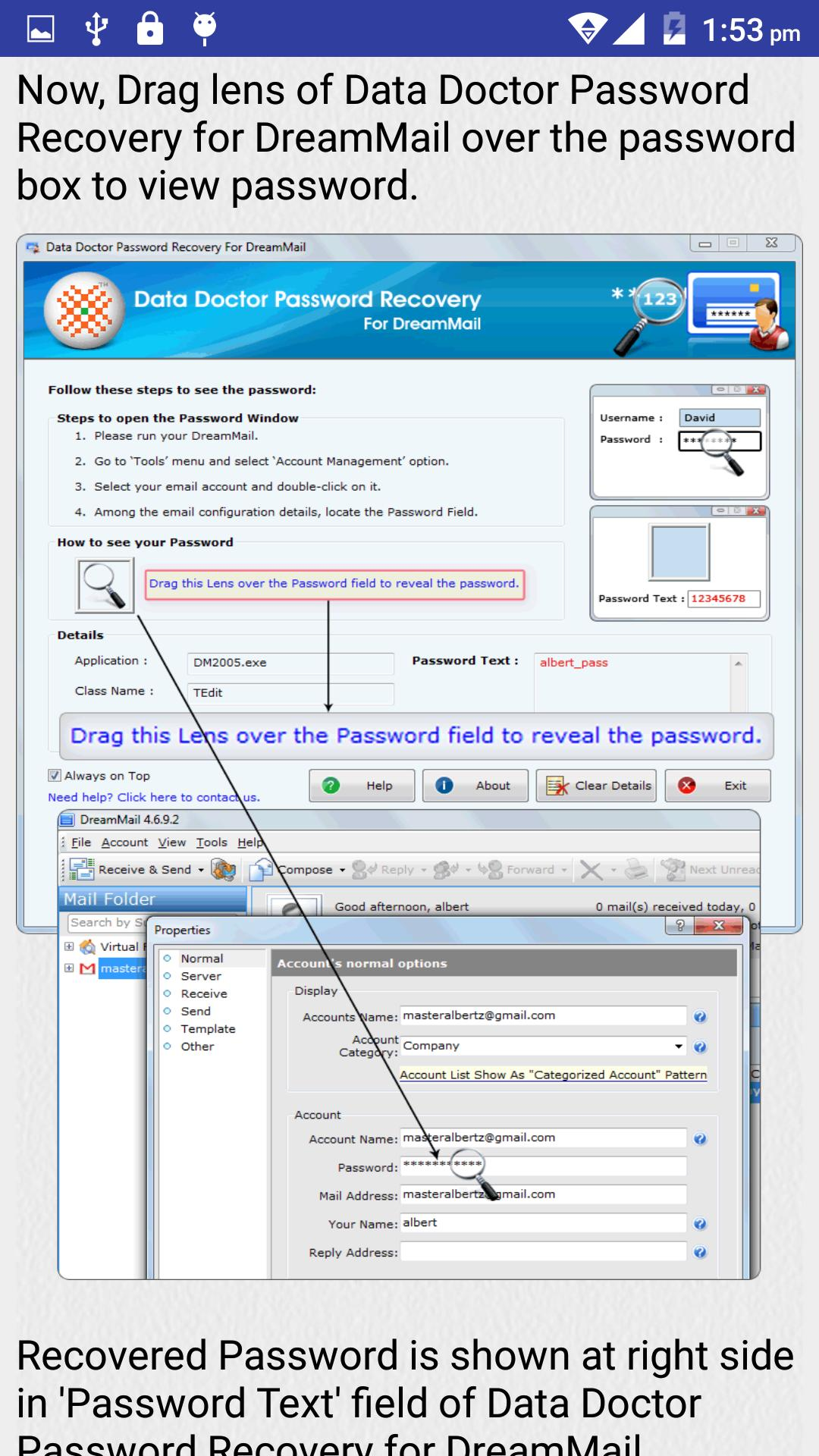 Email Password Recovery Help for Android - APK Download