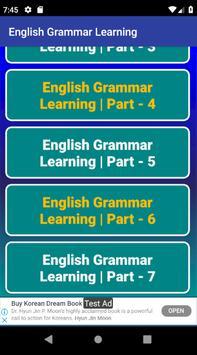 ইংরেজি গ্রামার শিক্ষার ভিডিও - English Grammar App screenshot 5