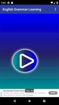 ইংরেজি গ্রামার শিক্ষার ভিডিও - English Grammar App screenshot 2