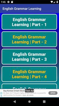 ইংরেজি গ্রামার শিক্ষার ভিডিও - English Grammar App screenshot 3