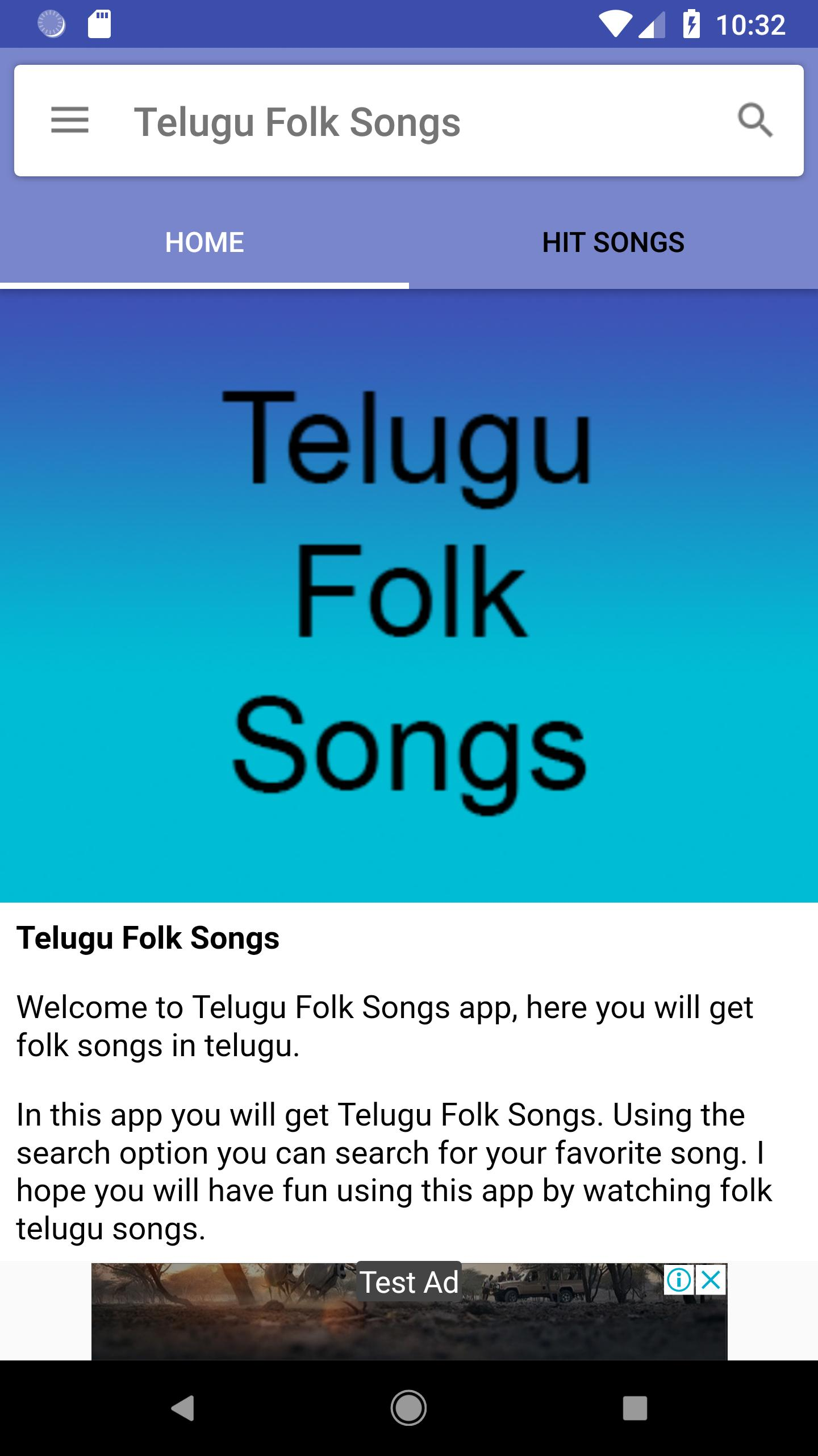 Telugu Folk Songs for Android - APK Download