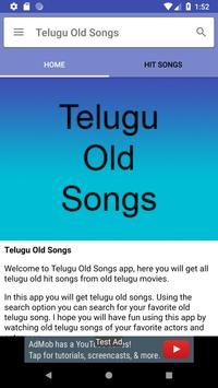 Telugu Old Songs screenshot 1