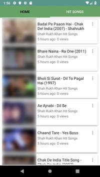 Shah Rukh Khan Hit Songs screenshot 3