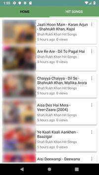 Shah Rukh Khan Hit Songs screenshot 2