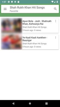 Shah Rukh Khan Hit Songs screenshot 5