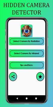 Hidden Camera Detector & Spy Camera Detector poster