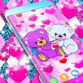 Teddy bear live wallpaper Zeichen
