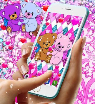 Teddy bear live wallpaper Screenshot 5
