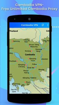Cambodia VPN screenshot 1