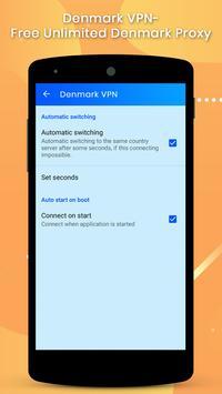 Denmark VPN screenshot 4