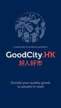 GoodCity Admin poster