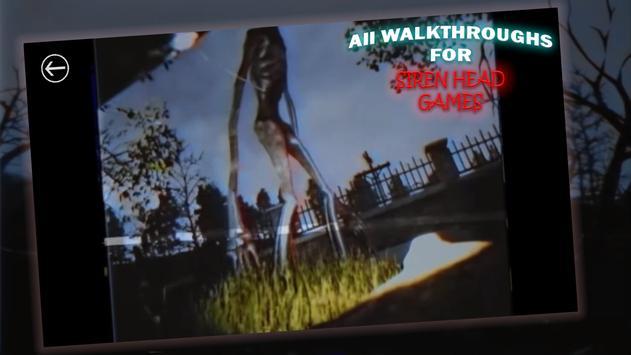 All Walkthroughs For Siren Head Games poster
