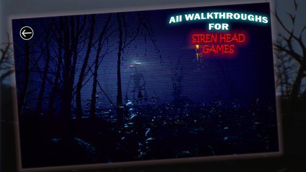 All Walkthroughs For Siren Head Games screenshot 3