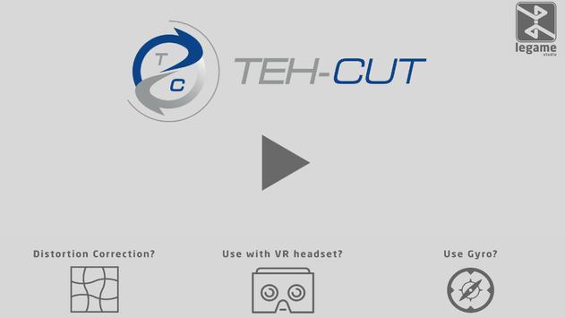 Teh-Cut 360° VR HR poster