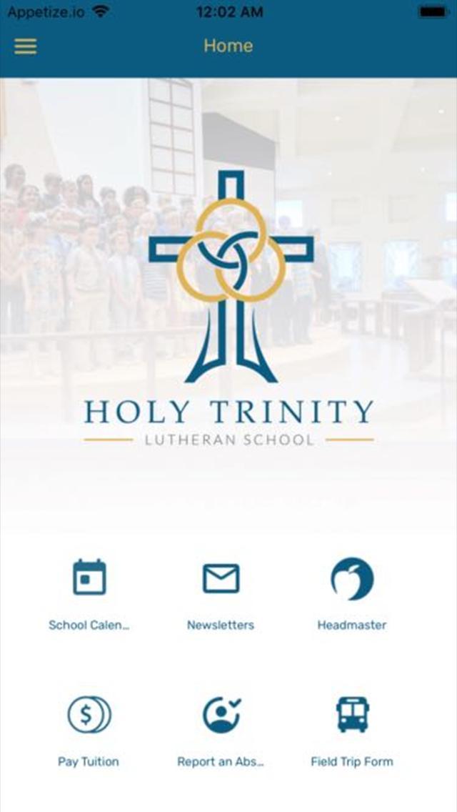 Holy Trinity Lutheran School poster