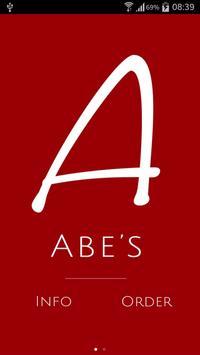 Abe's Restaurant poster