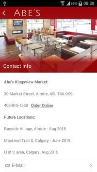 Abe's Restaurant screenshot 2
