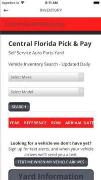 Central Florida Pick & Pay screenshot 1