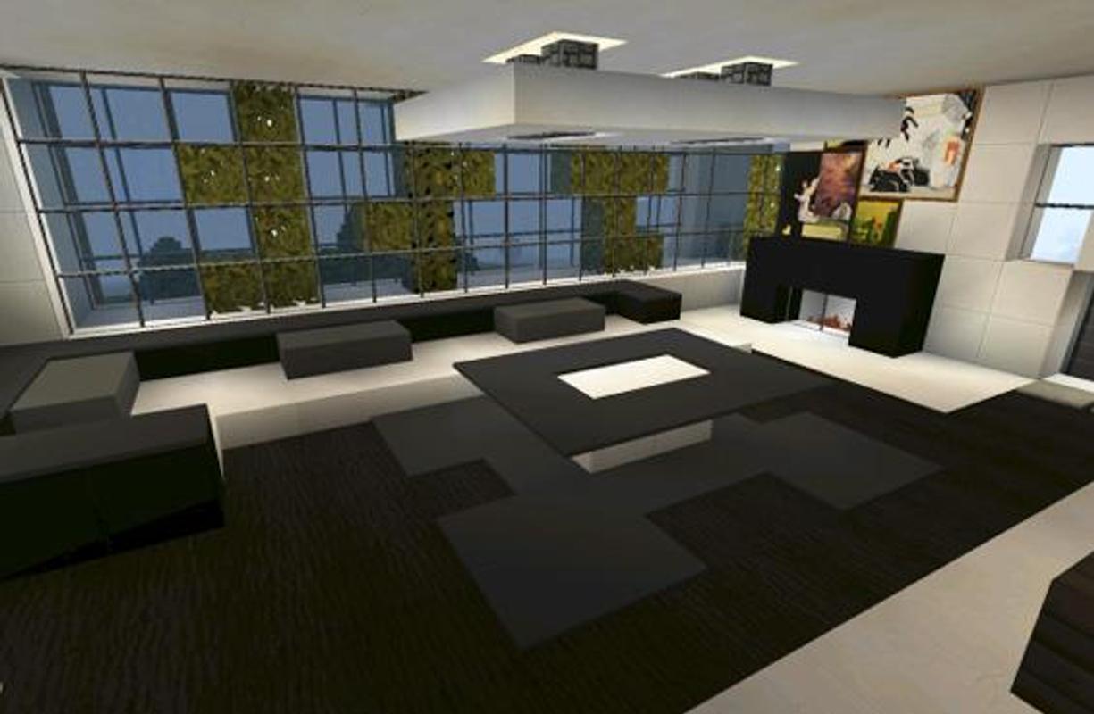 Modern Furniture For Minecraft Poster Screenshot 1