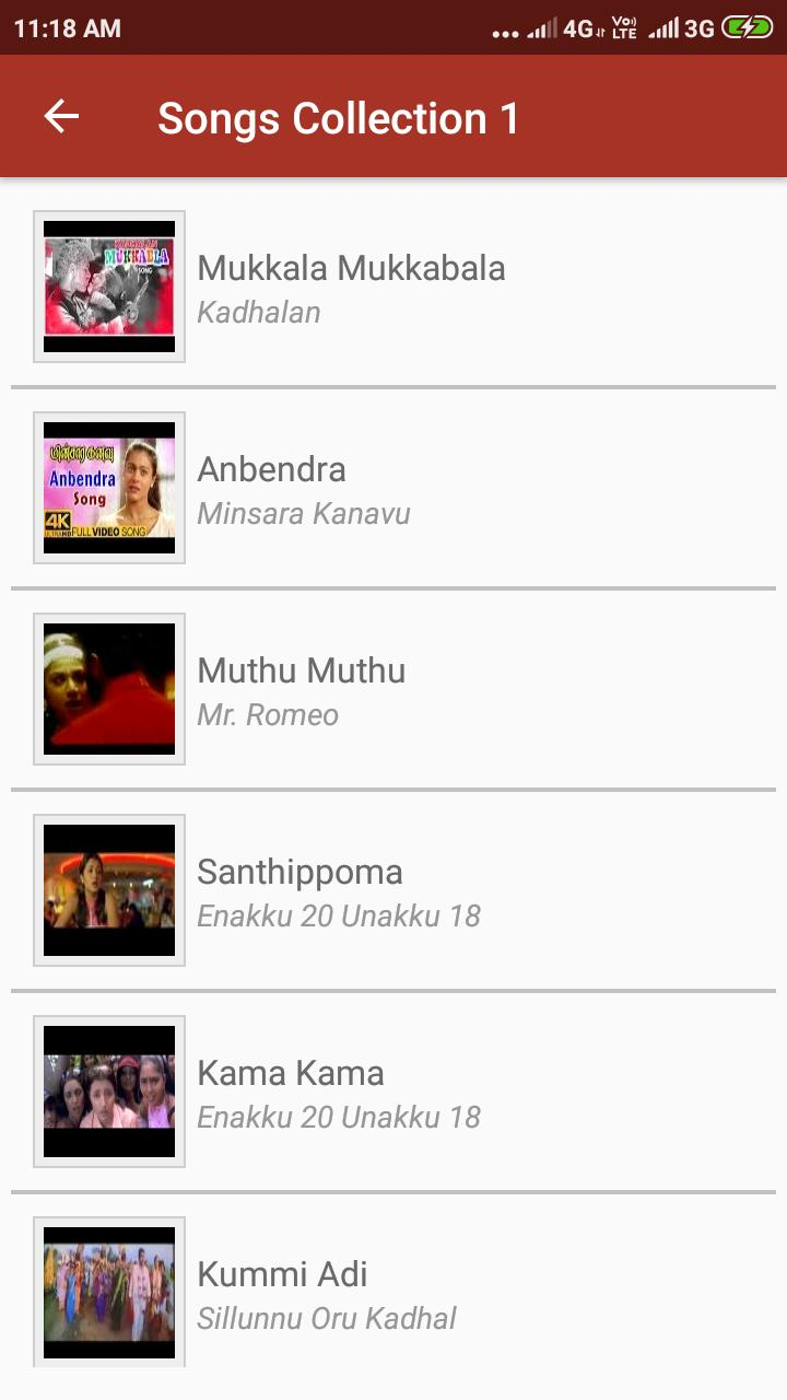 A R Rahman Tamil Hit Songs Video For Android Apk Download