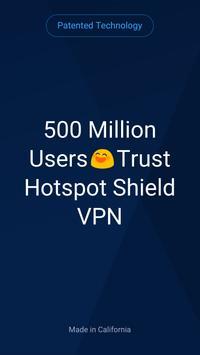 Hotspot Shield Basic - Free VPN Proxy & Privacy poster
