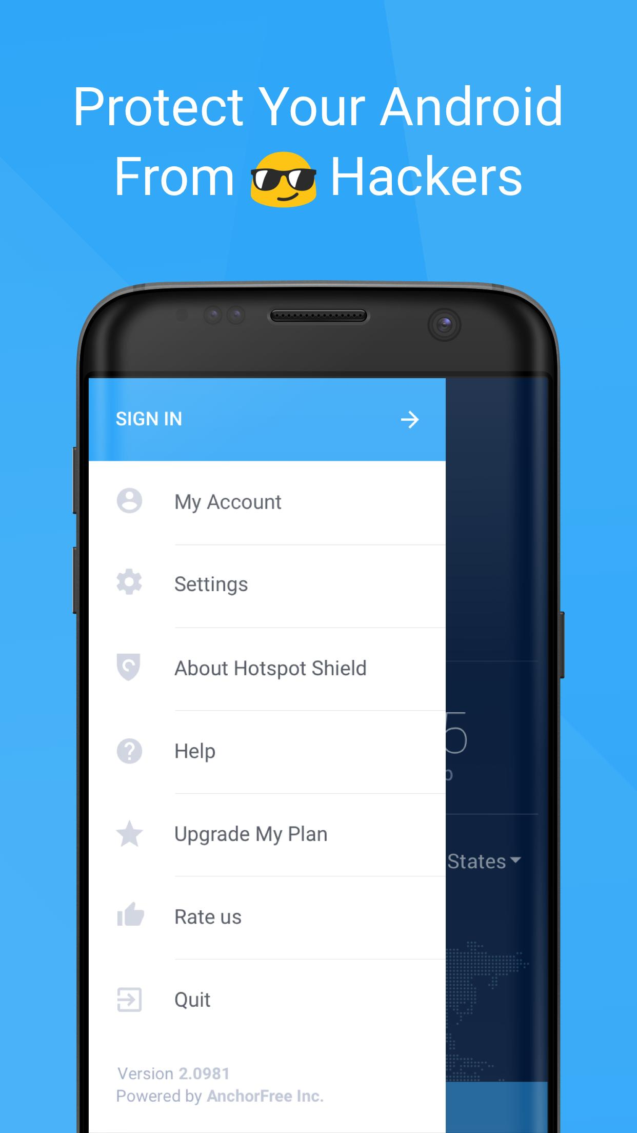 Hotspot Shield Basic - Free VPN Proxy & Privacy for Android