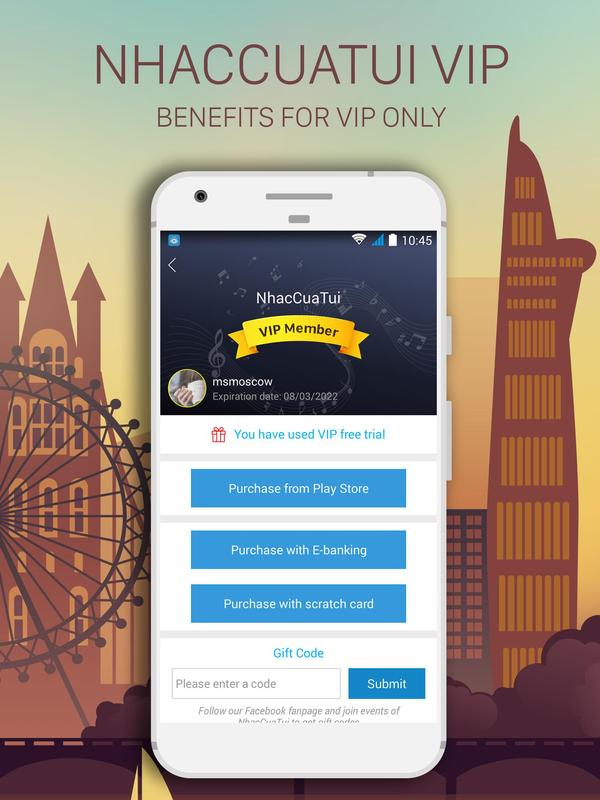 NhacCuaTui for Android - APK Download