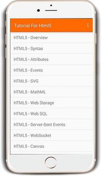 HTML5 Tutorials for Android - APK Download