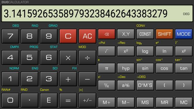 DuoCalculator screenshot 1