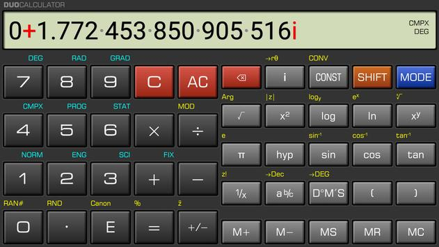 DuoCalculator screenshot 2