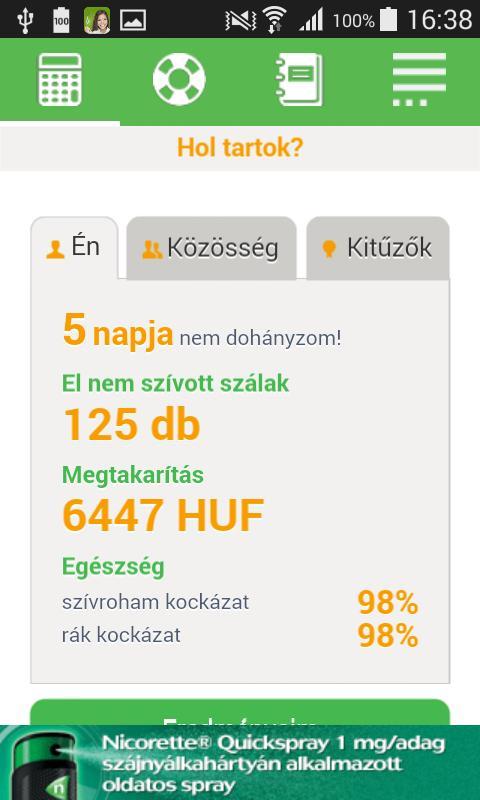 mobil alkalmazás hogyan lehet leszokni a dohányzásról