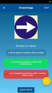 KRESZ teszt screenshot 4